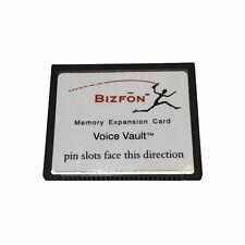 Bizfon Biz 0516 Voice Vault 2 Hour Memory Card For Bizfon 680 Office Phone Base