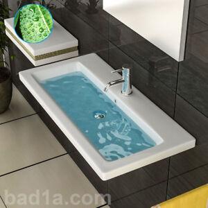 keramik handwaschbecken waschbecken mit nano design waschtische g ste wc ebay. Black Bedroom Furniture Sets. Home Design Ideas