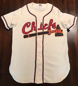 d590abcd7 Rare Ebbets Field Flannels Hartford Chiefs 1949 Home Baseball Jersey ...