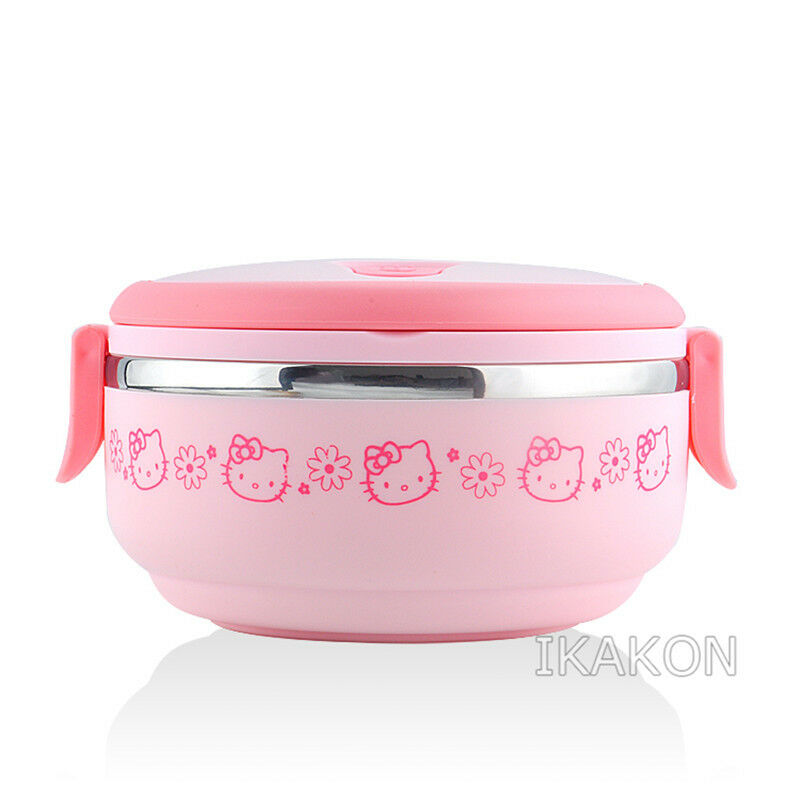 hello kitty lunch box food container storage box portable bento box high qual. Black Bedroom Furniture Sets. Home Design Ideas