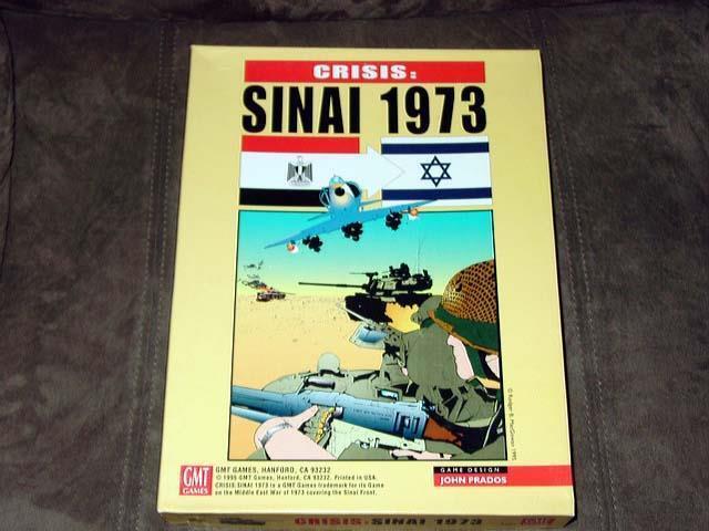 GMT Games 2010-crise  Sinai 1973-Le Moyen-Orientale-crise (non perforé)