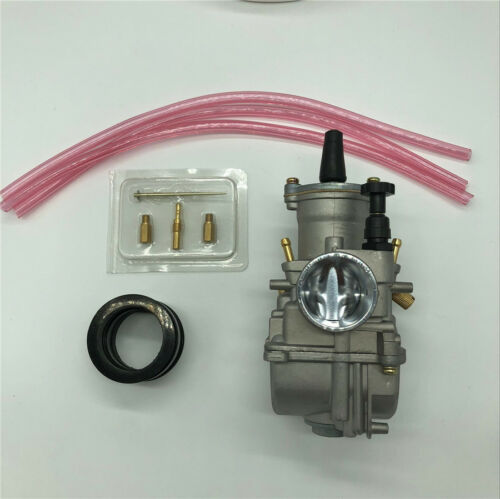 Motorcycle Scooter 30mm Carburetor Aluminum With Power Jet