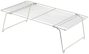 GENWARE CWT4726S Stackable Cooling Wire Rack 470x260x150mm Kitchen Cooking Cater