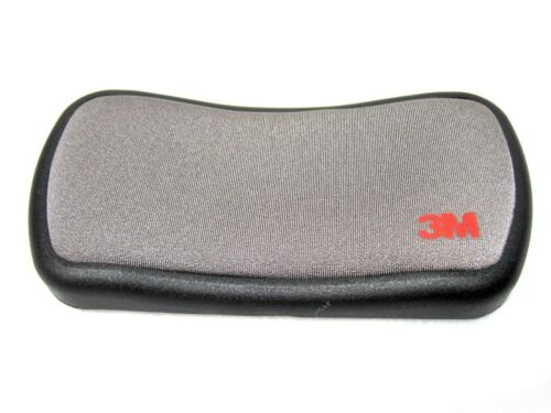3M Mouse Wrist Rest Pad Freely Roller Wheel Mouse Black With Gray/_Ac