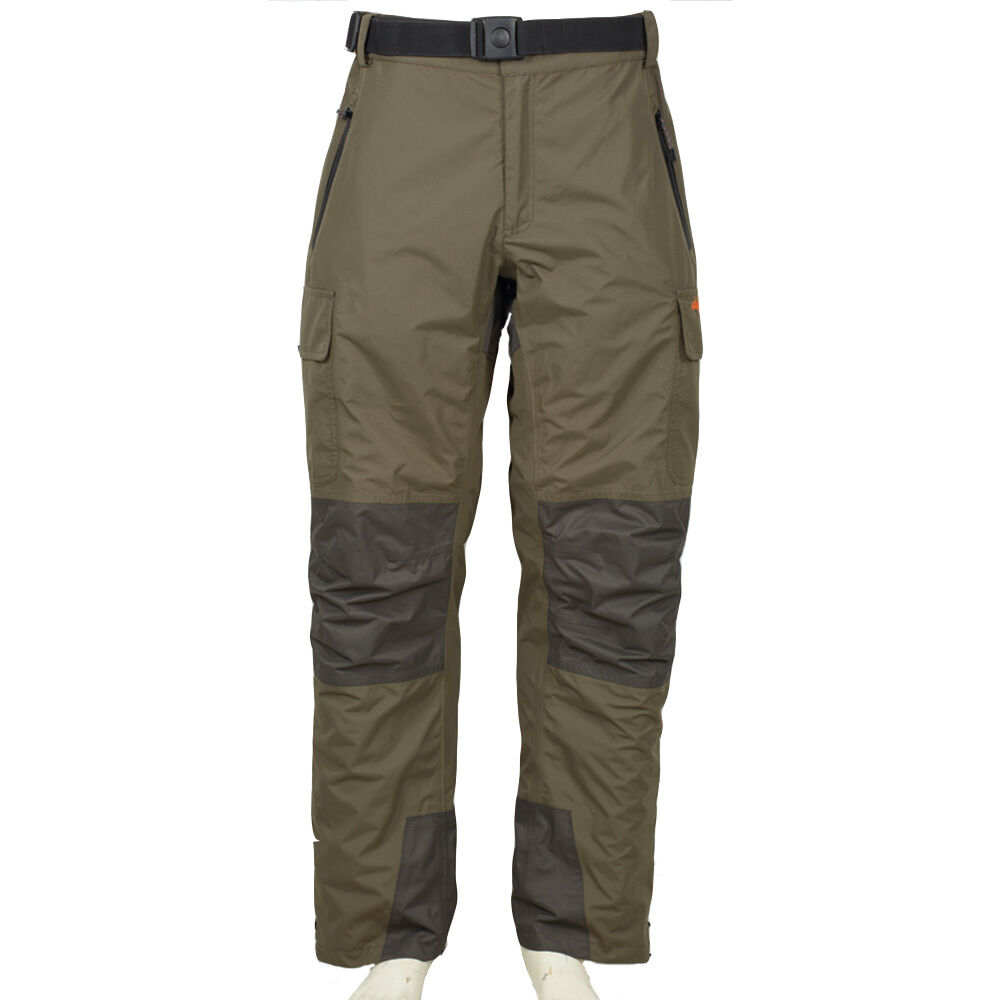 Airflo Defender Olive Grün 100% Waterproof Fly Fishing Trousers