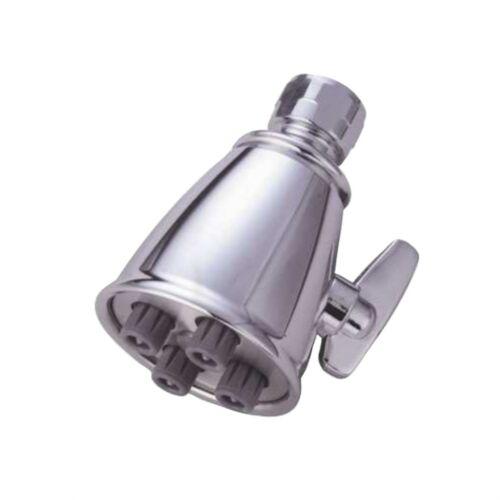 "Kingston Brass CK137A8 2-1//4/"" Diameter Adjustable Brass Shower Head With 4 Je..."