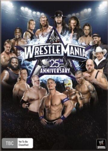 1 of 1 - WWE - Wrestle Mania 25 (DVD, 2009, 3-Disc Set) - Region 4