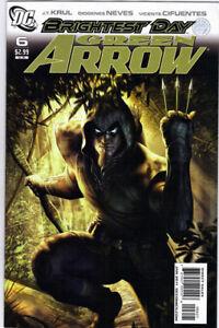 GREEN ARROW #6 RUDOLFO MIGLIARI VARIANT COVER - 1/10