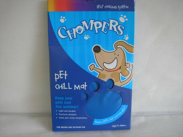GENUINE Pet Chill Mat Chompers Keep Your Pets Cool Free Post Superfast Delivery
