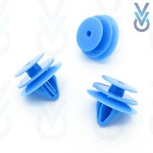 Pack of 10 VVO Fasteners Plastic Interior Pillar Trim Clips White