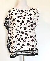 Allsaints Silk Tecla Jasper Blouse.nwt Retail $268 Price $86 Size 0 All Saints