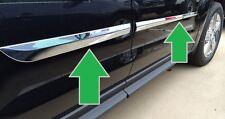 FOR HONDA CRV No Drill 3m Tape Chrome ABS Body Side Molding 2012-2016