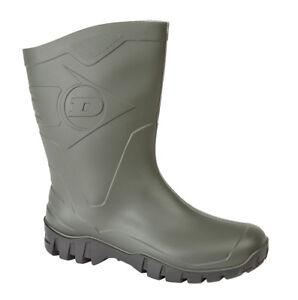 8 Open 6 Dimensione 11 5 Green Uomo Ankle Wide 12 Dunlop 4 caviglia Stivali 7 9 10 con qq4gX