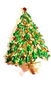 JJ-Christmas-Tree-Pin-Green-Enamel-Branches-Vintage