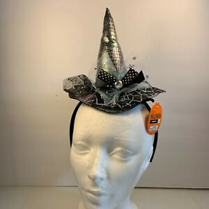 Halloween Witch Mini Hat Hairband Headband Cosplay Party Fancy