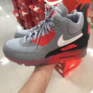 eb58f55f4cd9 Nike Air Max 90 Sneakerboot Ice Shoes Limited 684722-006 Men s Sz 8 ...