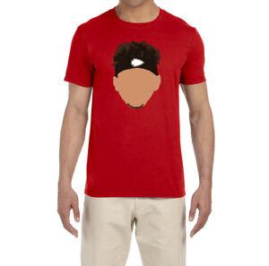 buy online 6bd0f a5860 Details about Kansas City Chiefs Patrick Mahomes Face T-shirt