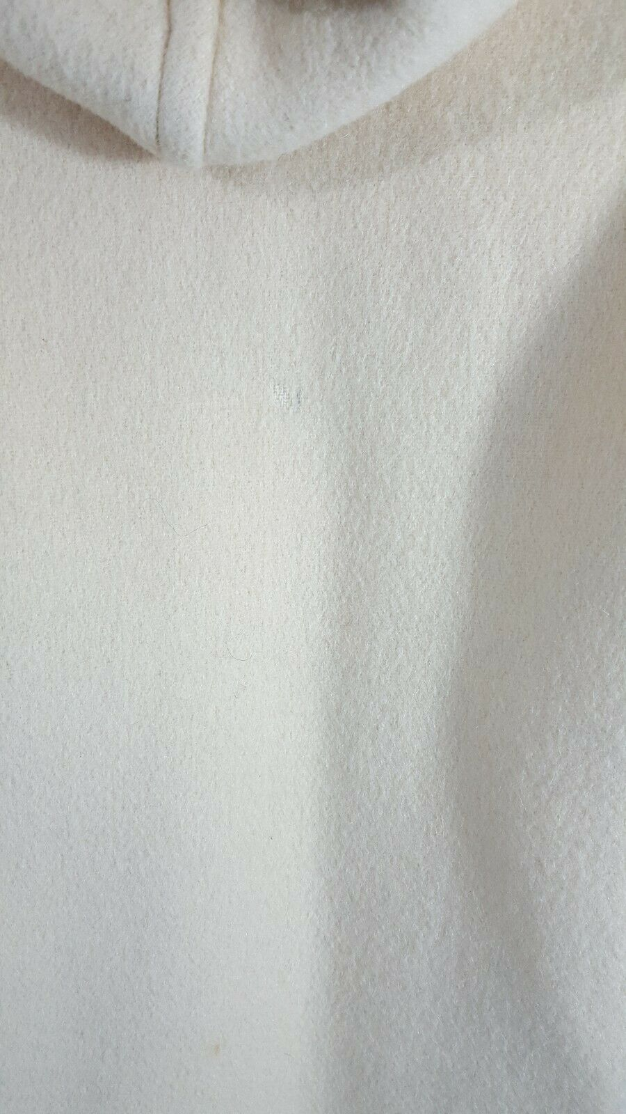 Gloverall Duffel Coat USA Size 12 Cream Wool Hoo… - image 3