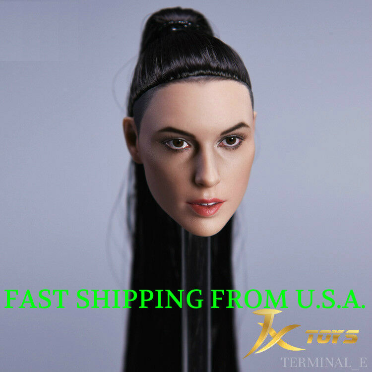 1 6 Female Head Sculpt Gal Gadot WONDER WOMAN B For Hot Toys Phicen Figure ❶USA❶