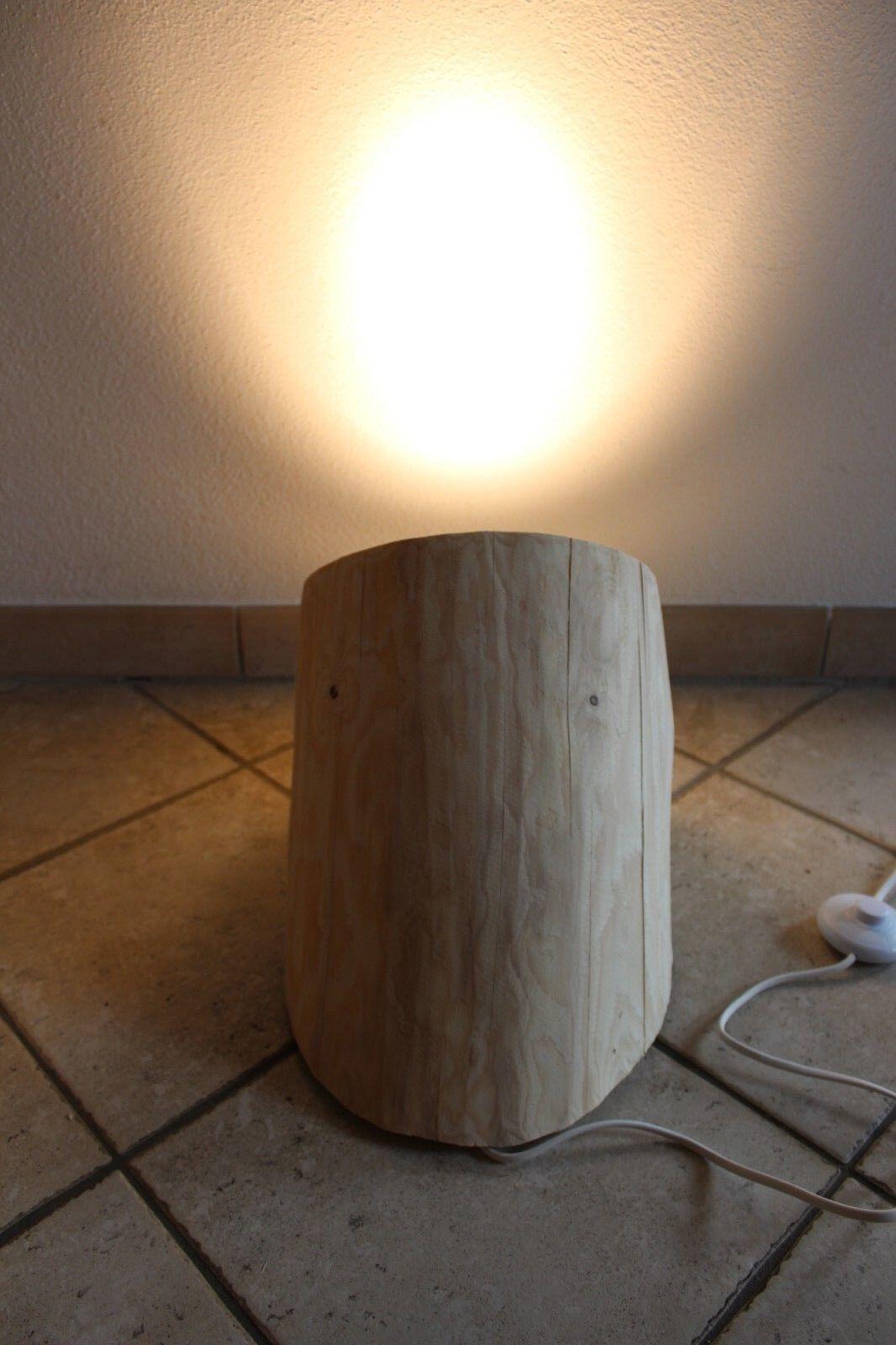 Nr.214, Bodenfluter, 46cm x 27cm x 28cm, Stehlampe, Holz lampe, Deckenfluter