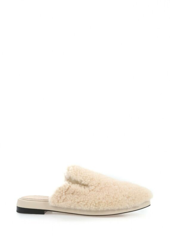Australia Luxe Kim Shearling A Punta Diapositive Uk 5 Marca In Scatola