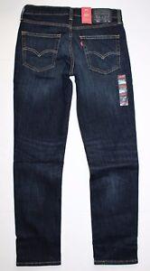 e9304fea01f Levi's Men's 511 Slim Fit Stretch Jeans Sequoia Dark Blue Denim ...