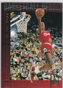 Details About Michael Jordan Chicago 1985 Rookie Upper Deck Bulls Basketball Card Heroes Le