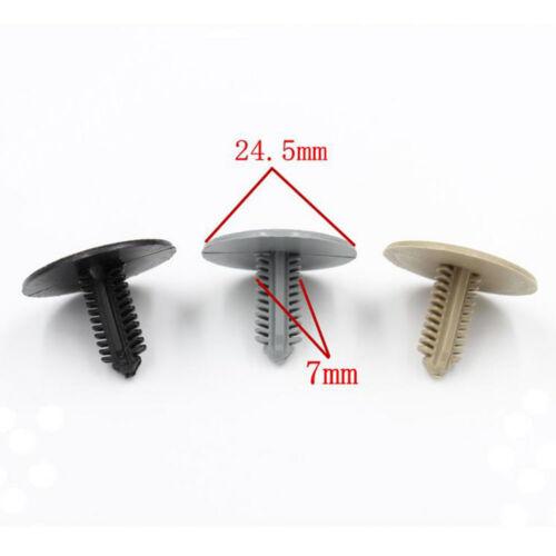 10pcs new car Plastic Interior Top Clamp Clip fastener Interior Top Clamp Clip