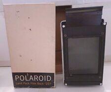 Polaroid MP-3 Land Camera Pack Film Back #227 +Product Box