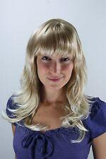Perücke blond-mix gesträhnt Pony wig 1548-15BT613 50cm