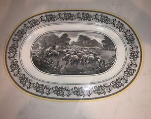 Villeroy Boch Audun Ferme Oval Serving Platter 9 1 4 X 13 1 4 Sheep Ebay