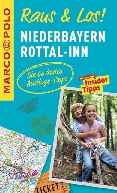 Niederbayern Rottal Inn Raus & Los + Karte Reiseführer Marco Polo 2015 Passau