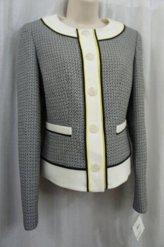 Anne Carriera 0 Sz Textured Nero Onyx Labaster Business Blazer Klein Sqz1rS
