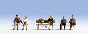 DéSintéRessé Noch 45530 Tt Figurines 1:120 - Assis Avec Une Banque - Neuf Emballage D'origine Rendre Les Choses Pratiques Pour Les Clients