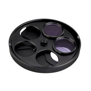 "SVBONY SV133 2"" Multiple 5-Position Filters Wheel Manual for Telescopes Metal DE"