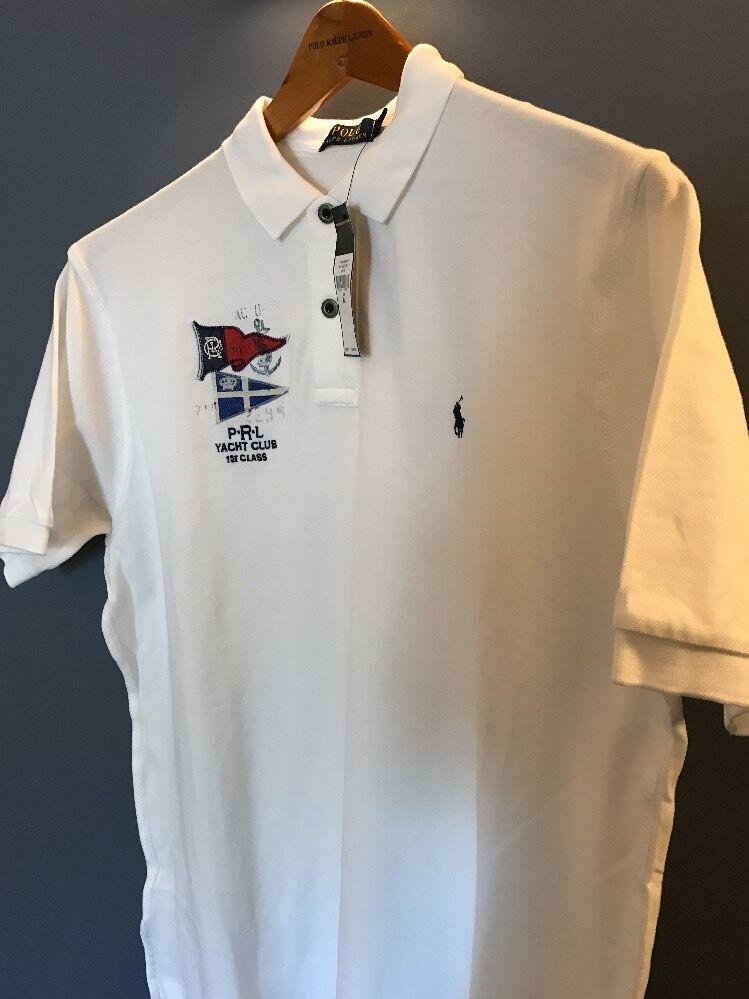 Polo Ralph  Lauren Para Hombres Polo De Algodón blancoo X LARGE nuevo con etiquetas  El nuevo outlet de marcas online.