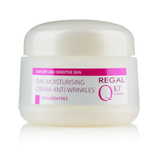 REGAL-Q10-MOISTURISING-DAY-CREAM-ANTI-WRINKLES-FOR-DRY-amp-SENSITIVE-SKIN-50-ml