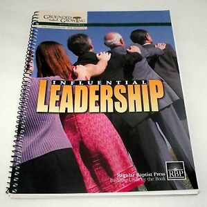 Details about Leadership Bible Lessons Adult Teacher Influential Grounded  Growing Baptist SS