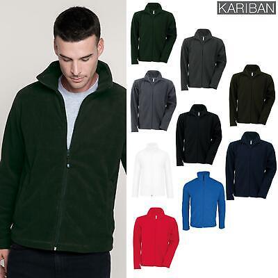 Kariban Falco Con Cerniera Micropile Giacca (k911) - Adulto Casual Winterwear-mostra Il Titolo Originale Carino E Colorato