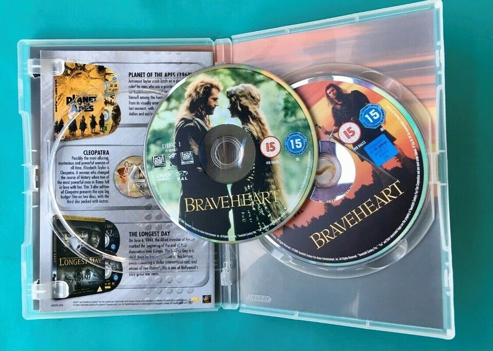 Braveheart (2DVD), DVD, drama