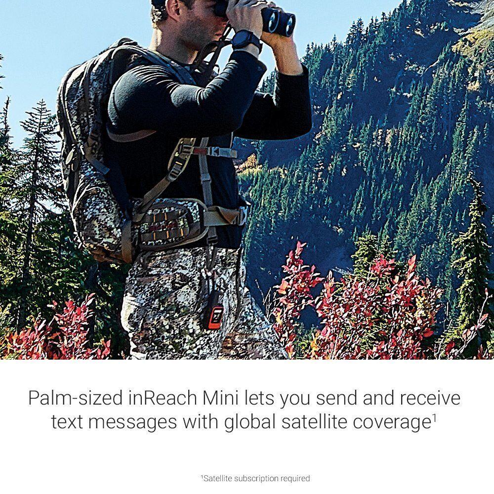 Garmin ligero, inReach Mini comunicador Satélite ligero, Garmin Naranja 010-01879-00 27d368