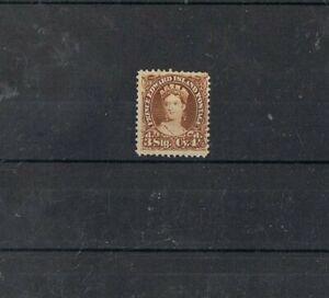 PRINCE EDWARD ISLAND - 1870 4 1/2 brun, VICTORIA.