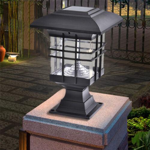 Solarbetriebene LED-Licht Garten Gartenpfad Landschaft Zaun Lampe wasserdicht