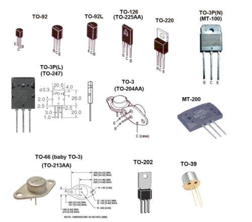 Qty 5 2SC3094 SANYO NPN TO-3 Power Transistor Free US Shipped
