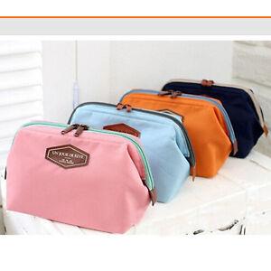 Women-039-s-Toiletry-Make-Up-Cosmetic-Bag-Pouch-Handbag-Purse-Organizer-Travel-Bags