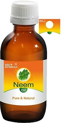 Aromatherapy Natural & Alternative Remedies Nice Sscp Neem Pure & Natural Oil 5 Ml To 250 Ml Azadirachta Indica