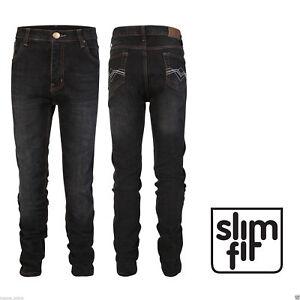 Garcons-Enfants-Jeans-Homme-Stretch-Skinny-Slim-Denim-Chino-Taille-3-14-ans-NEUF