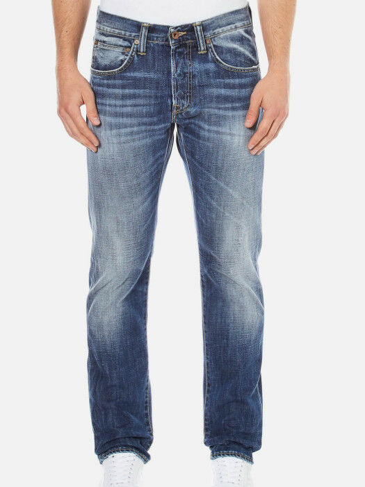 JEANS EDWIN ED80 SLIM TAPERED (bluee break-dark) SIZE W31 L34 ( i004539 278 )