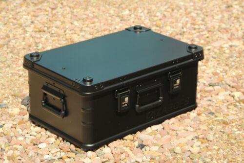 Zarges de 600 x 400 x 250 mm nuevo 42 litros negro mate ALUBOX