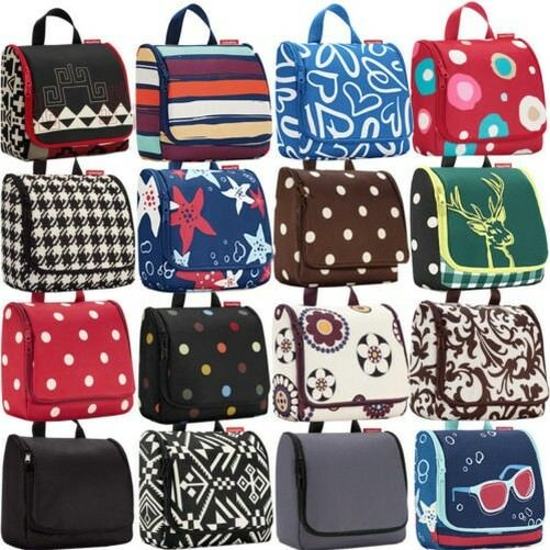 Reisenthel Hanging Travel Wash Bag - 12 Colours to Choose From Wool Print    eBay e14e764178